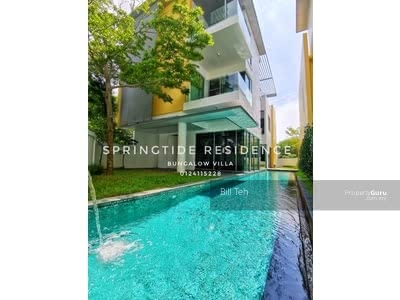 For Sale - 3 Storeys Villa Renovated Bungalow with Private Pool - Gated and Guarded