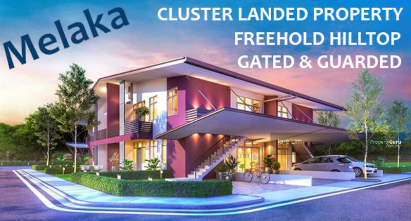 【 Investment 】RM211, 000 to own a Freehold Hilltop Malacca Semi D Cluster Townhouse (34x54) #166803806