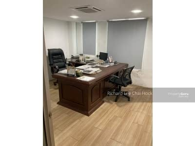 For Sale - 22x75 office lot fully renovated & furnished for sell, bandar bukit tinggi,  klang
