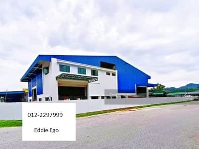 For Rent - Brand New Industrial Warehouse Factory Gunung Rapat Ipoh