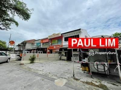 For Sale - SHOP LOT SALE 2 STOREY AT JALAN BURMA FACING BUSY ROAD PREMIER LOCATION