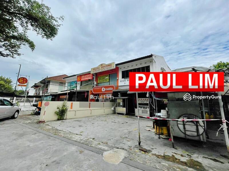 SHOP LOT SALE 2 STOREY AT JALAN BURMA FACING BUSY ROAD PREMIER LOCATION #167244680