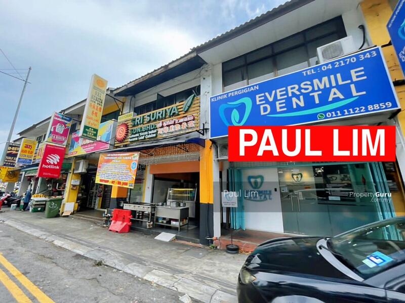 SHOP LOT SALE 2 STOREY AT JALAN BURMA PREMIER HOT LOCATION SELL WITH TENANCY #167542764