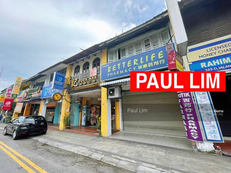SHOP LOT SALE 2 STOREY AT JALAN BURMA PREMIER HOT LOCATION SELL WITH TENANCY #167542766