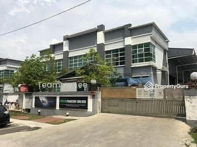 For Rent - 2sty Detached Factory 35, 000sf , Mahkota Beranang Industrial Park, Semenyih