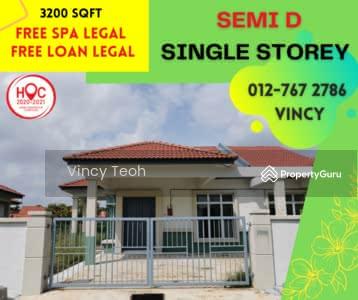 For Sale - Melaka Single Storey Semi D