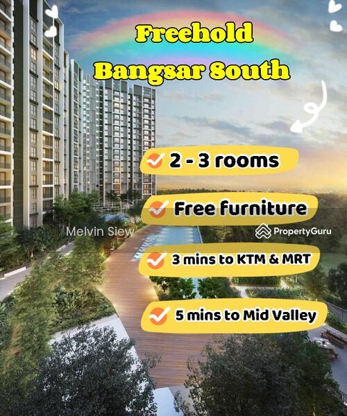 Bangsar South Freehold Condo Greenery Concept Below Market Price #168568488