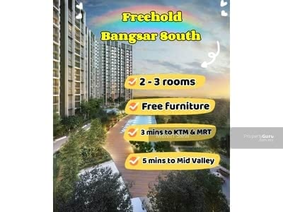For Sale - Bangsar South Freehold Greenery Concept Below Market Price