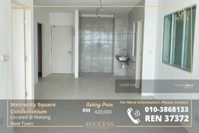 For Sale - MetroCity Square Apartment located Matang New Town