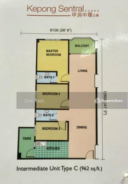 [Below Market Value] 3 Rooms Kepong Sentral Condominium @Puncak Desa, Kepong #168850210