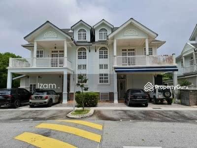 For Sale - FACING LAKE NEW HAVEN 2 1/2 Storey Semi Detached House, Presint 18H, Putrajaya