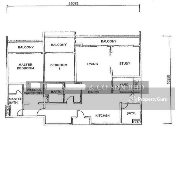 28/10/2021 BANK LELONG : No.C-19-02, Jesselton Residences, Off Jalan Tun Fuad Stephen, Kota Kinabalu #169900724