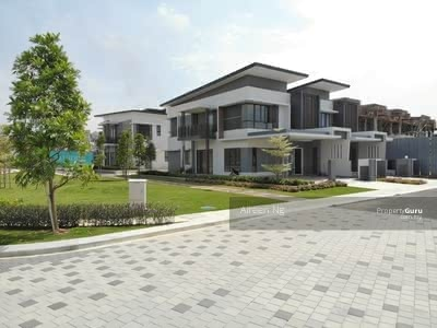 For Sale - HOC Full Loan- 22x75 New Launch Double Storey Link House Sungai Buloh Awarded Township
