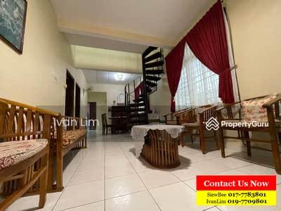 For Sale - Taman Daya Single Storey Terrace House EndLot