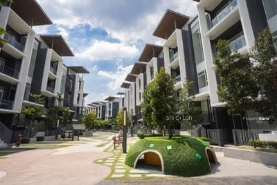 For Sale - HOC Promotion 0%Downpayment 1. 5 Storey Townhouse Bangi Ready Move In Free All Fees