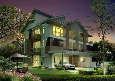 For Sale - [ Hillside Tropical Living Semi-D Landed } A Feel Good Family Home Amongst Leafy Serenity