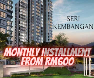 For Sale - New Condo Serdang MRT Project (Monthly Rm600)