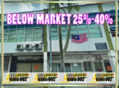 For Sale - BELOW MARKET 450K]2STOREY SHOP JINJANG UTARA