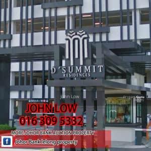 For Sale - 22/10 BANK LELONG Kempas Utama-D'Summit Residences 2bed/2bath