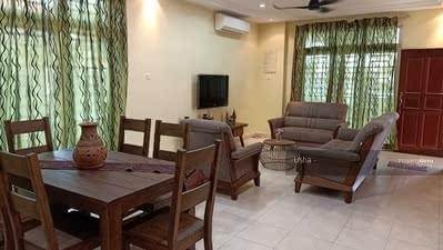 For Rent - Taman Gaya @ Jalan Sasa - Fully Furnished Double Storey Cluster For Rent
