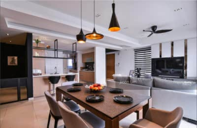 Dijual - [Fully Furnished] Township City [Direct Link to Lrt] Family Stay Concept