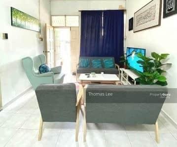 For Sale - Renovated Terrace House @ Taman Daya