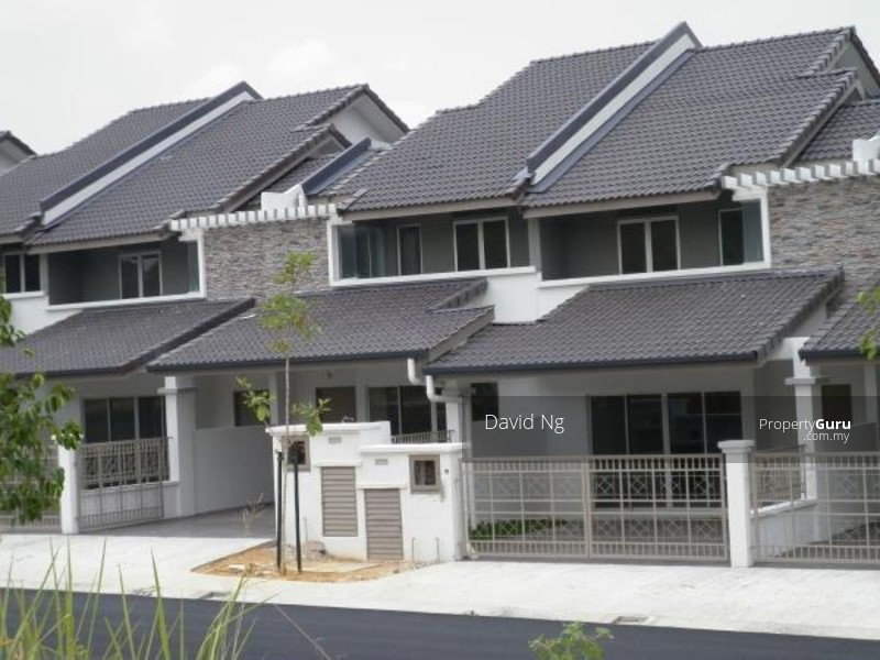 New 2 storey terrace house ayu prima setia alam alam for 2 storey house for sale