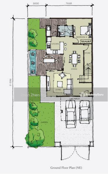 Setia tropika cluster house setia tropika cluster house for Cluster house plans