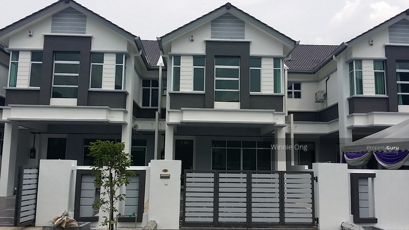 Freehold double storey terrace house at meru desa park for Terrace house 1