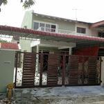 2 storey intermediate corner at Taman Arkid Mengle