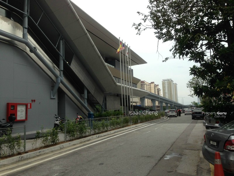 MRT station in operation