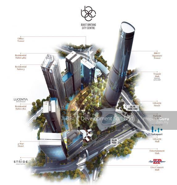 Lucentia Residence @ Bukit Bintang City Centre KL #142725358