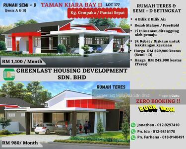 For Sale - Taman Kiara Bay (Fasa II) @ Cempaka - Sepat