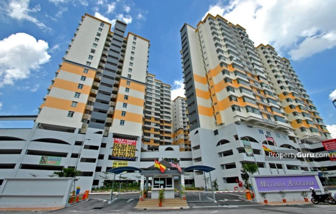 Mutiara Anggerik Service Apartment Shah Alam Propertyguru