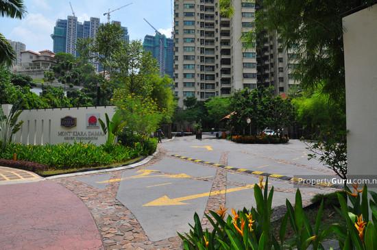 Mont' Kiara Damai Resort Condominium  206
