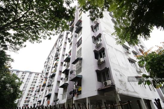 Teratai Mewah Apartment Block 4 & 6 Side View 3345