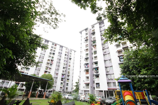Teratai Mewah Apartment Block 4 & 6 Playground View 3348